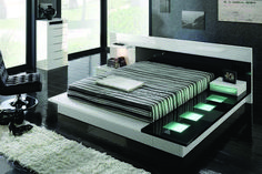 Modern bedroom furniture sets contemporary bedroom furniture new ideas modern contemporary bedroom Contemporary Bedroom Furniture, Bedroom Furniture Design, Modern Bedroom Furniture, Bedroom Modern, White Bedrooms, Furniture Ideas, Unique Furniture, Black Furniture, Small Bedrooms