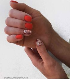 Simple Nail Art Designs That You Can Do Yourself – Your Beautiful Nails Neon Nails, Bling Nails, Love Nails, My Nails, Matte Nails, Uñas Art Deco, Neon Nail Designs, Luxury Nails, Elegant Nails