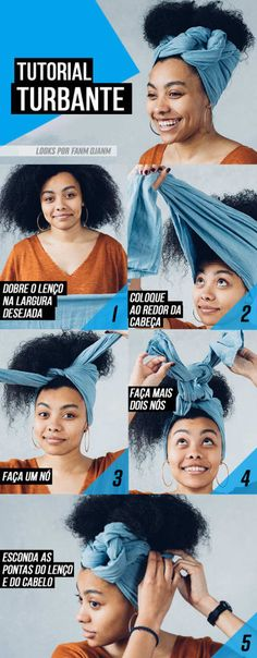 Natural Makeup tuto coiffure foulard cheveux frises boucles - You only need to know some tricks to achieve a perfect image in a short time. Natural Hair Care, Natural Hair Styles, Natural Makeup, Natural Beauty, Pelo Natural, Organic Makeup, Natural Skin, Hair Day, Your Hair