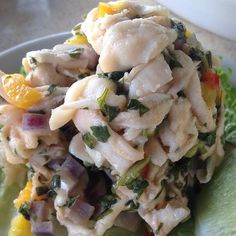 Bahamian Conch Ceviche, Alonzo's Oyster Bar, Key West