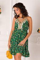 rochie-de-vara-2019-6 Floral, Dresses, Fashion, Vestidos, Moda, La Mode, Florals, Fasion, Dress