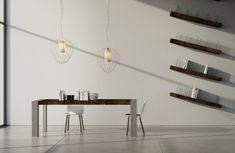 Tavolo consolle allungabile fino a metri andromeda