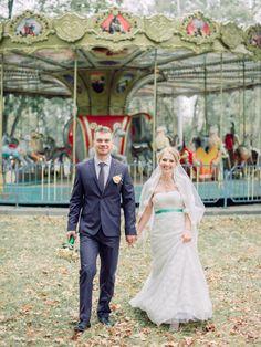 Vintage corousel Wedding | fabmood.com