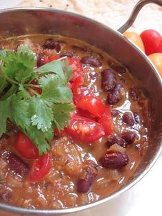 ラジマ:赤金時豆のインドカレー
