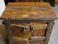 Custom Made Handcrafted Rustic Barnwood Furniture, Such As Barnwood Vanity, Barnwood  Tables, Barnwood Cabinets. All Rustic, Old Fashioned Furniture Pieces ...
