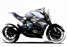 BMW Motorrad BMW Reveals 'Concept Roadster' Motorcycle Design