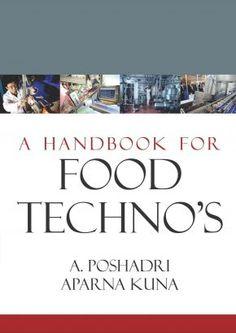 Agriculture Books - A Handbook for Food Techno's - www.nipabooks.com