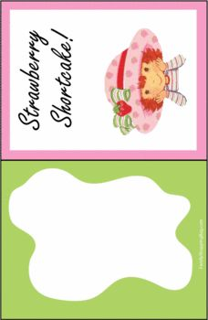 Strawberry Shortcake Smiles Invitations