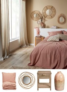 Warm Bedroom, Bedroom Inspo, Home Bedroom, Bedroom Decor, Room Wall Colors, Room Planning, Bedroom Furniture Sets, My New Room, Beautiful Bedrooms