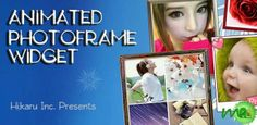 Animated Photo Frame Widget + is the best of photo widget on Android with over 500000+ downloads.