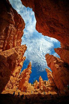 Hole into the Sky / via Petr Marek