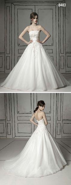 Justin Alexander 8465 & 8483 | Becky J: Wedding Dress Wednesday