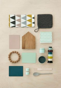 Colors -- items and photograph by ferm living