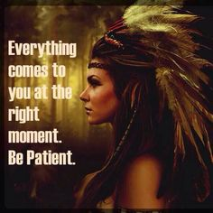 Right time . Patience