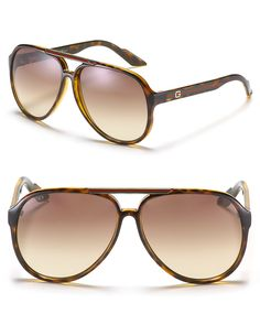 Also, I would like to know your thoughts on these Gucci Aviator Sunglasses with Iconic Striped Details as well.