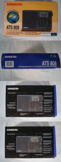 Ham Radio Receivers: Sangean Ats-808 Shortwave Ham Receiver Radio New In Box! Nos! Collector Item -> BUY IT NOW ONLY: $198 on eBay!