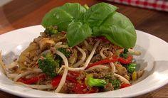 Chop suey au bœuf
