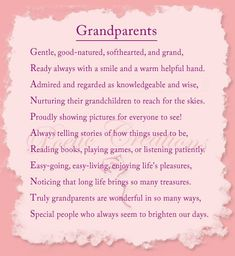 Image detail for -poems about grandparents greatgrandparents and grandchildren poems for ...