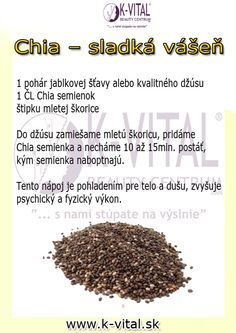chia Nordic Interior, Healing Herbs, Wellness, Planer, Health Benefits, Life Is Good, Detox, Healthy Living, Food And Drink