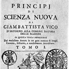 la celebre terza edizione della Scienza Nuova di Vico (1744)