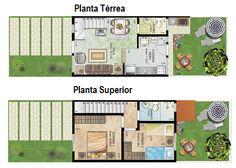 10 modelos de plantas para sobrados