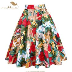 Western Girl Runway Skirt Saias Midi Tutu Pleated Vintage High Waist Floral Rockabilly Pinup Skirts Womens Faldas Mujer : Western Girl Runway Skirt Saias Midi Tutu Pleated Vintage High Waist F – moflily High Waisted Flares, High Waisted Skirt, Tutu Women, Steampunk Skirt, Plus Size Skirts, Sexy Skirt, Summer Skirts, Vintage Skirt, Skirt Fashion