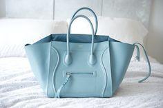 pastel blue + celine
