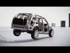Volvo mostra teste de segurança com XC90 - carros - Jornal do Carro