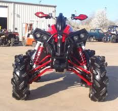 can am renegade that im gonna own because they are amazing for mudding