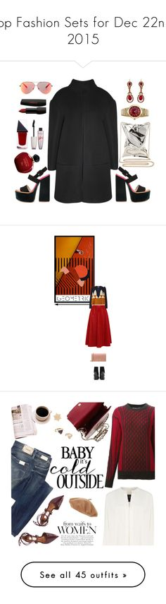 """Top Fashion Sets for Dec 22nd, 2015"" by polyvore ❤ liked on Polyvore featuring Victoria Beckham, Christian Dior, Anya Hindmarch, Salvatore Ferragamo, Givenchy, Rimmel, GUiSHEM, Golden Goose, Delpozo and Mulberry"