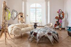 Миша Кан представил коллекцию мебели для галереи Friedman Benda на выставке дизайна Nomad   AD Magazine