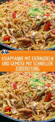 Asiapfanne mit Eiernudeln und Gemüse INGREDIENTS: of turkey meat, of Chinese egg noodles sliced ​​into strips, 1 coconut Hamburger Meat Recipes, Meatloaf Recipes, Sausage Recipes, Egg Recipes, Turkey Recipes, Asian Recipes, Vegetarian Recipes, Chinese Recipes, Chinese Egg
