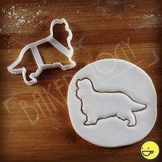 Cavalier King Charles Spaniel Dog cookie cutter  от Bakerlogy
