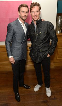 Sherlock's in the house: Benedict Cumberbatch attends the gala screening of The Guest to support pal Dan Stevens