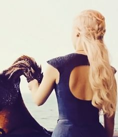 game of thrones mother of dragons hair - Google Search