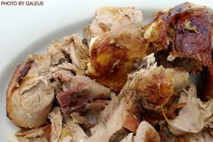 Roasted lamb meat #food #streetfood #sweets #cakes #traditional #cuisine #homegrown #permaculture