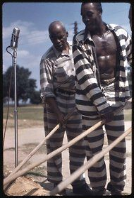 Association for Cultural Equity Alan Lomax Archives: Lomax photographed and recorded prison work songs in Mississippi