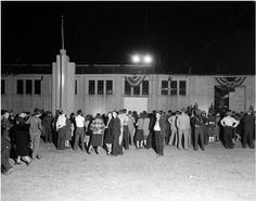 Crowds at North Carolina State Fair Grounds, 1941 ^cs
