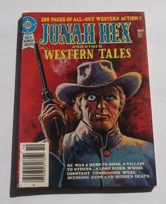 Jonah Hex and Other Western Tales (Sep-Oct DC) for sale online Jonah Hex, Wild West, Dc Comics, Westerns, Friday, Action, Hero, Baseball Cards, Ebay