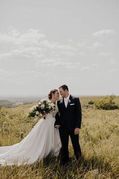 Photographer: Josie England Venue: Kansas State Alumni Center Celebrations of the Heart Bride Classic Wedding Dress, Wedding Dresses, Wear Store, Bridal And Formal, Formal Wear, Kansas, Celebrations, England, Bridesmaid