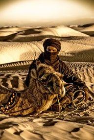 Sahara  Desert Man