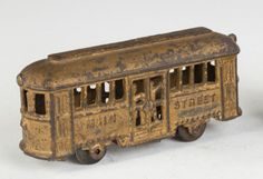 Cast-Iron-Main-St-Trolley-Car-Bank-Lot-117