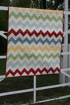 England Street Quilts: Chevron Quilt Tutorial