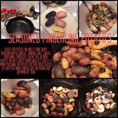 Seasoned Fingerling potato's