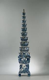 Antique Delft blue Tulip vase (Rijksmuseum Amsterdam)