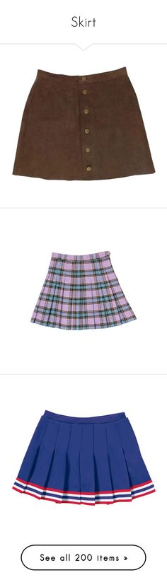 """""""Skirt"""" by aestheticallygay ❤ liked on Polyvore featuring skirts, bottoms, suede leather skirt, brown suede skirt, brown skirt, suede skirt, american apparel skirt, clothing - skirts, purple and purple skirt"""