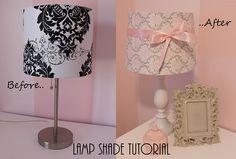 Mommy's Little Sunshine: Lamp Shade Tutorial