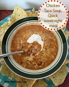 chicken taco soup. o