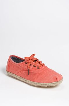 $74 TOMS 'Ceara' Cordones Slip-On (Women) available at Nordstrom