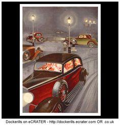 Dunlop  - 1934 #opony #motointegrator #starereklamy #30s